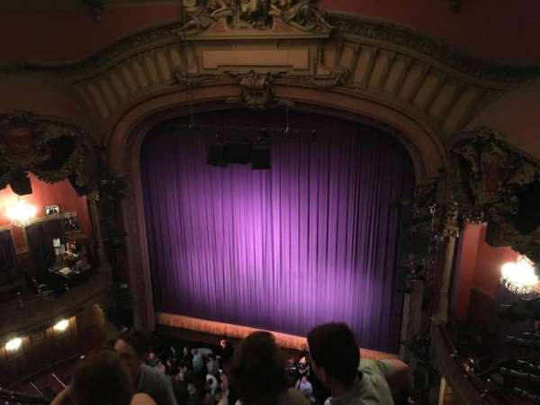 Lyceum Theatre (Broadway), section: Balcony R, row: D, seat: 6