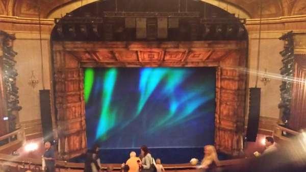 St. James Theatre, section: Center Mezzanine, row: M, seat: 109