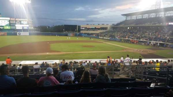 Harbor Park, section: 209, row: X, seat: 5