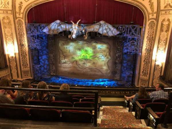 Orpheum Theatre (Omaha), section: Balcony, row: A, seat: 116