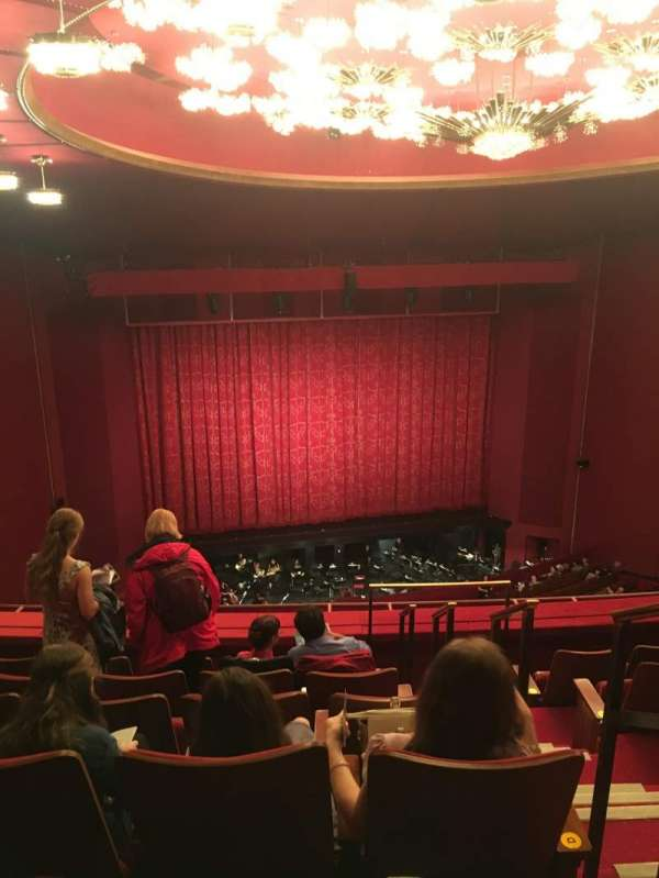 The Kennedy Center Opera House, section: Tier 2 LC, row: F, seat: 103