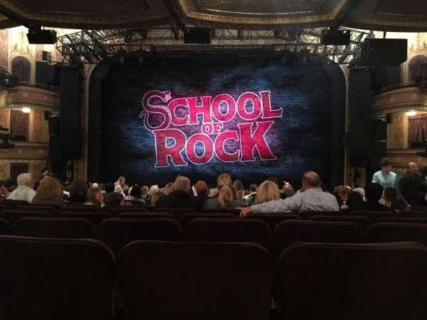 Winter Garden Theatre, section: Orchestra, row: U, seat: 107