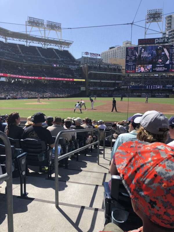 Petco Park, section: 111, row: 14, seat: 1