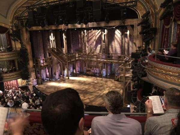 Richard Rodgers Theatre, section: Mezzanine R, row: C, seat: 22