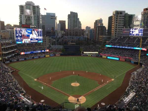 PETCO Park, section: 300, row: 20, seat: 18