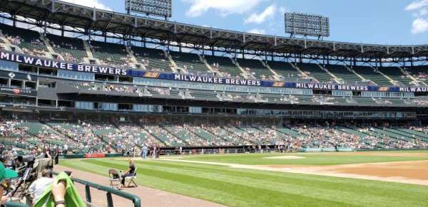Guaranteed Rate Field, section: 120, row: 1, seat: 7
