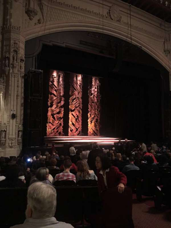 Orpheum Theatre (San Francisco), section: Orchestra L, row: U, seat: 5