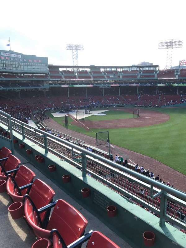 Fenway Park, section: Right Field Roof Deck Box 29, row: B, seat: 1