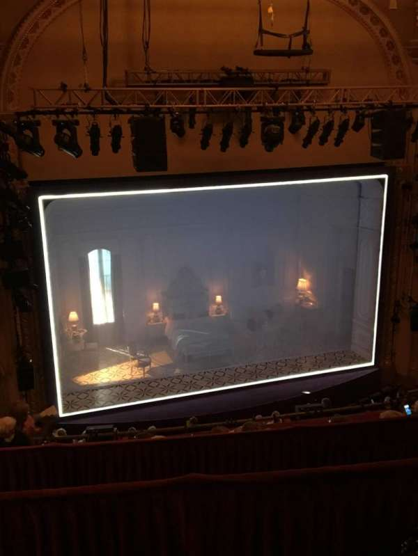 John Golden Theatre, section: Rear Mezzanine LC, row: C, seat: 119