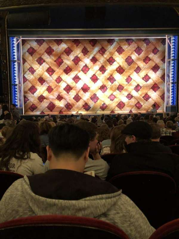 Brooks Atkinson Theatre, section: Orchestra C, row: O, seat: 106