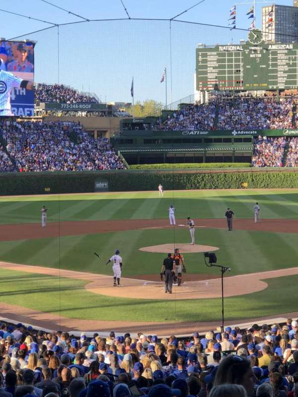 Wrigley Field, section: 222, row: 5, seat: 108