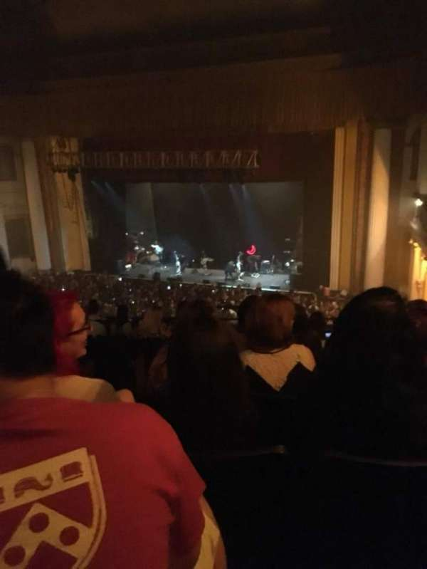 Tower Theater, section: Loge R, row: HH, seat: 35