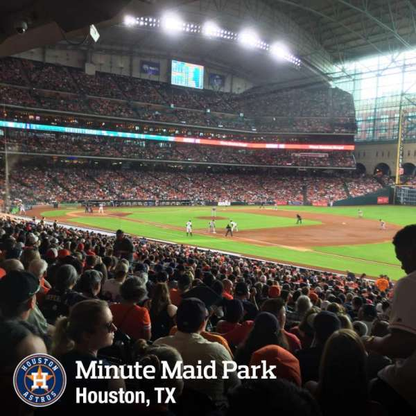 Minute Maid Park, section: 129, row: 36, seat: 20