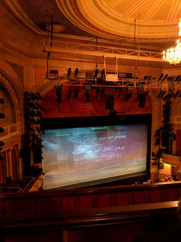 Ethel Barrymore Theatre, section: Rear Mezzanine L, row: B, seat: 15