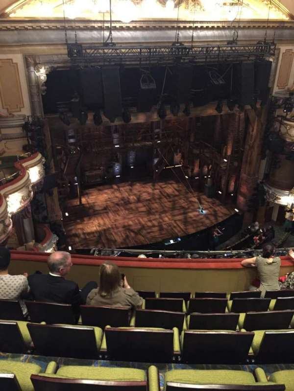 Victoria Palace Theatre, section: Grand Circle, row: G, seat: 35