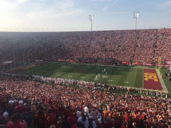Los Angeles Memorial Coliseum, section: 4L, row: 78, seat: 1