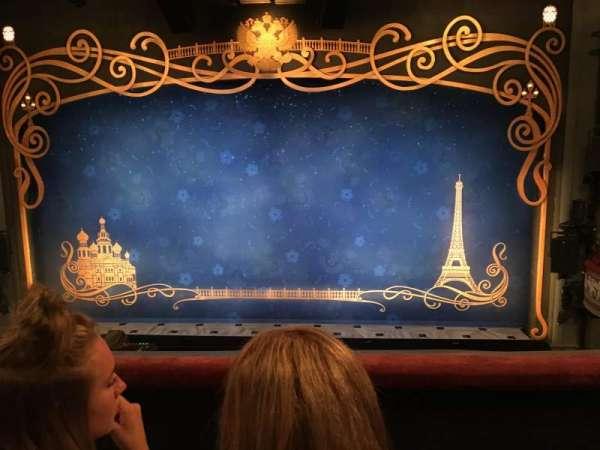 Broadhurst Theatre, section: Mezzanine, row: C, seat: 111