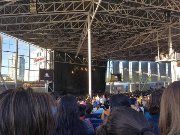 Budweiser Stage, section: 409, row: K, seat: 7