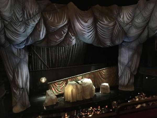 Majestic Theatre, section: Rear Mezzanine L, row: B, seat: 3