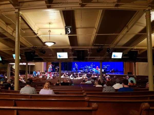 Ryman Auditorium, section: MF 3, row: Z