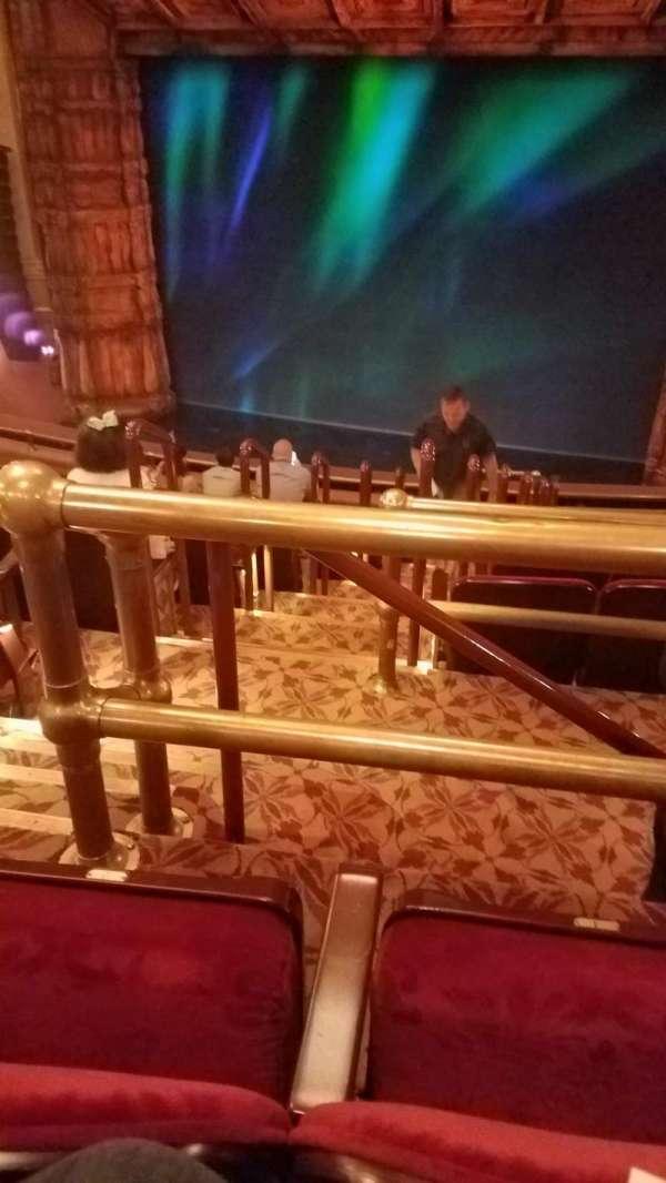 St. James Theatre, section: Mezzanine R, row: K, seat: 4