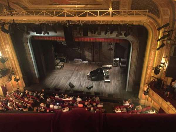 Walter Kerr Theatre, section: Balcony R, row: A, seat: 14