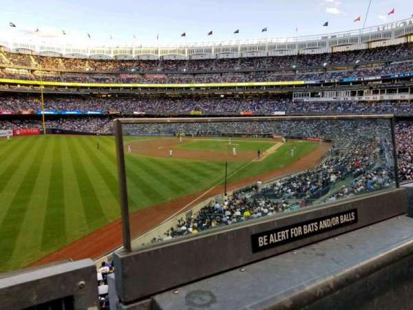 Yankee Stadium, section: 232A, row: 1, seat: 1
