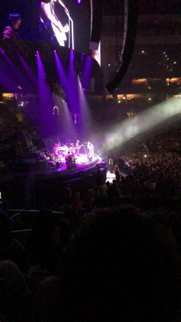 Wells Fargo Center, section: 123, row: 15, seat: 3