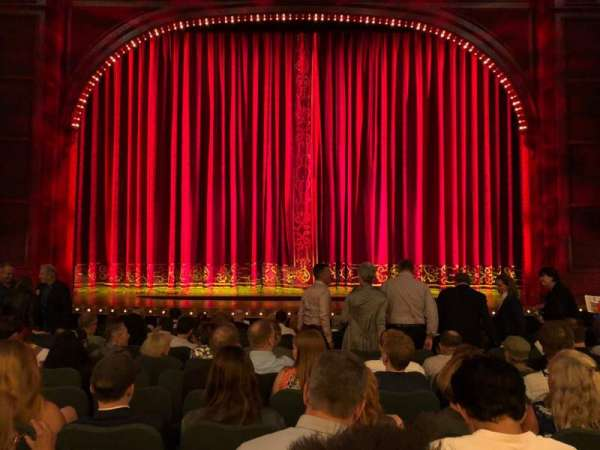 Shubert Theatre, section: Orchestra C, row: M, seat: 108