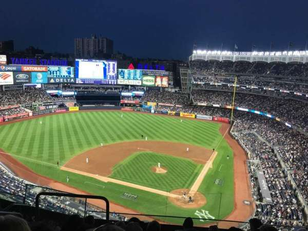 Yankee Stadium, section: 421, row: 6, seat: 18