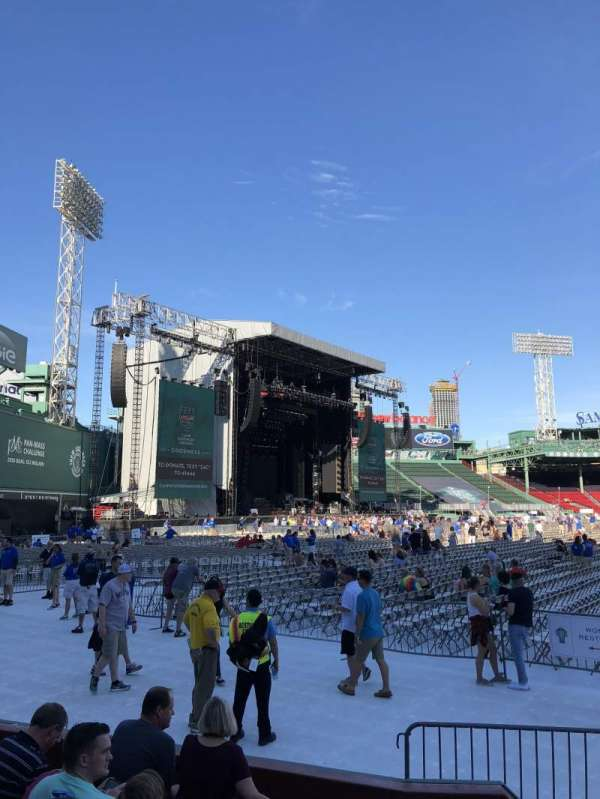 Fenway Park, section: Field Box 79, row: G, seat: 4