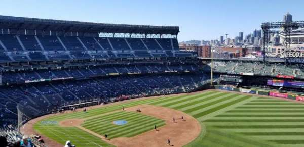 Safeco Field, section: 316, row: 13, seat: 3