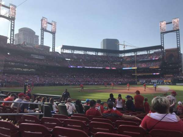 Busch Stadium, section: 140D, row: K, seat: 5