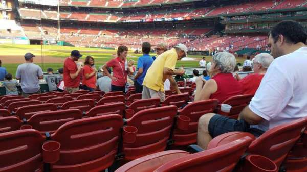 Busch Stadium, section: 158, row: 2, seat: 8