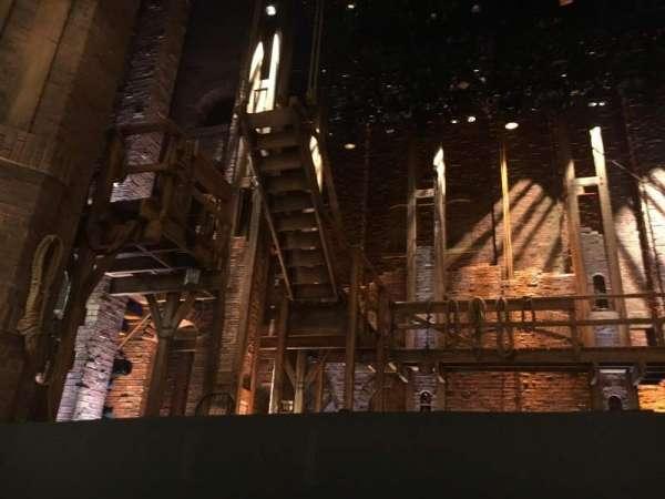 CIBC Theatre, section: Floor, row: 1