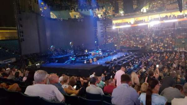 BOK Center, section: 120, row: Q, seat: 3