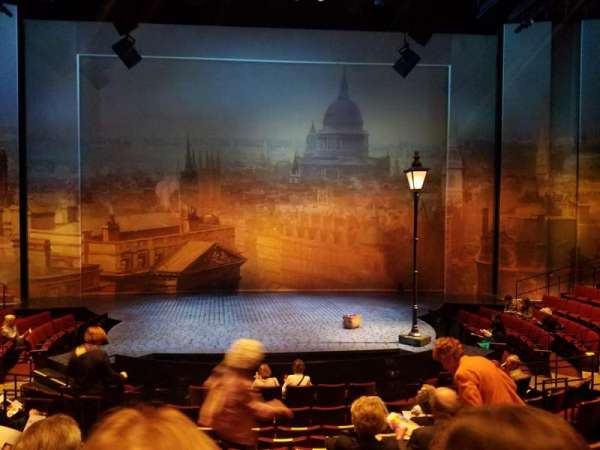 Vivian Beaumont Theater, section: Center Orchestra, row: L, seat: 307