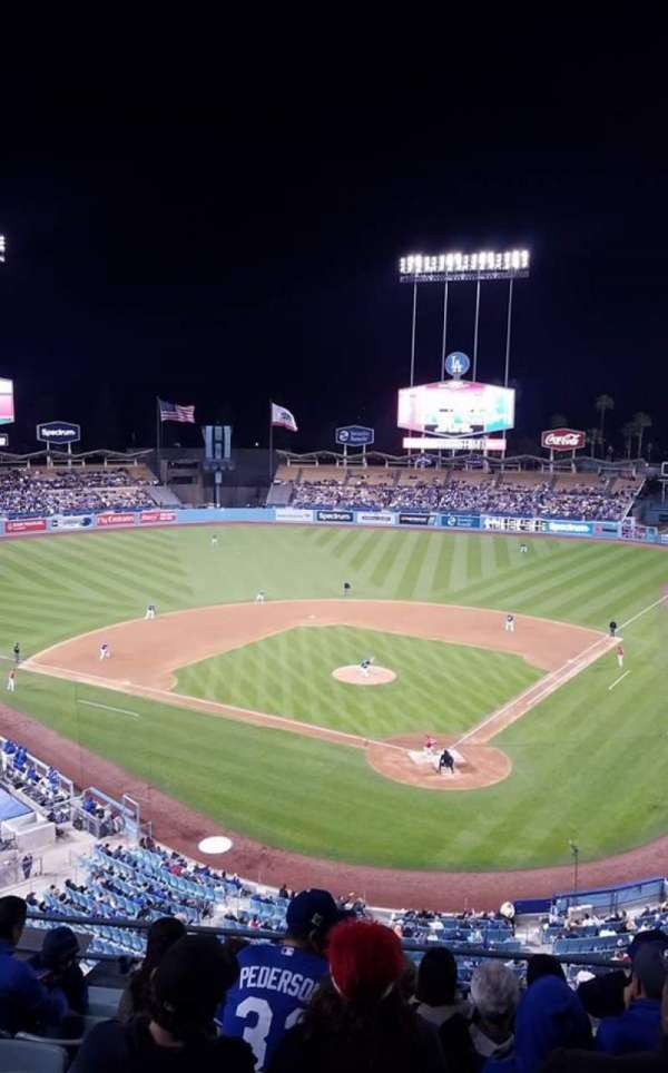 Dodger Stadium, section: 5RS, row: H, seat: 12