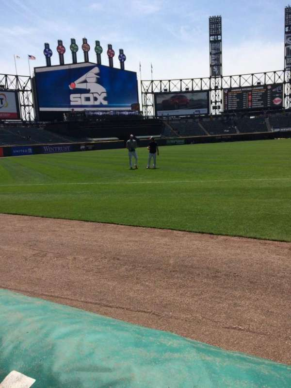 Guaranteed Rate Field, section: 145, row: Aa, seat: 2