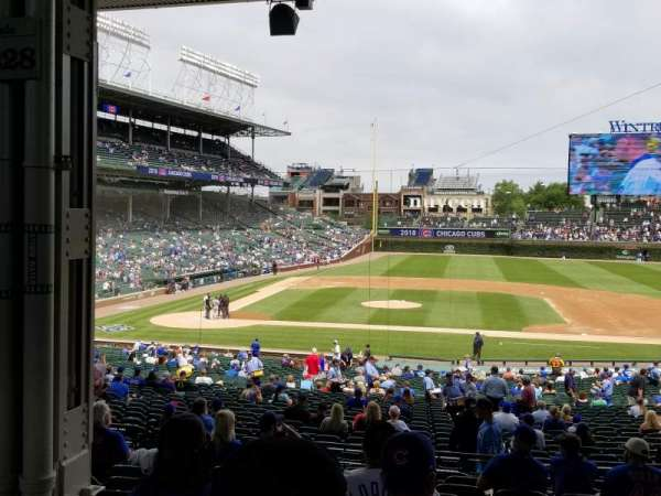 Wrigley Field, section: 223, row: 11, seat: 8
