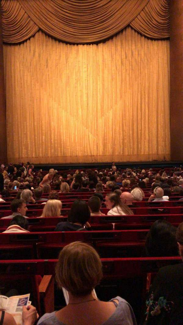 Metropolitan Opera House - Lincoln Center, section: Orchestra, row: Z, seat: 110