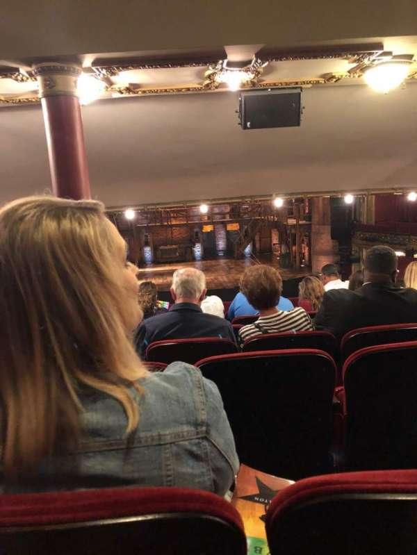 CIBC Theatre, section: Dress Circle C, row: G, seat: 202