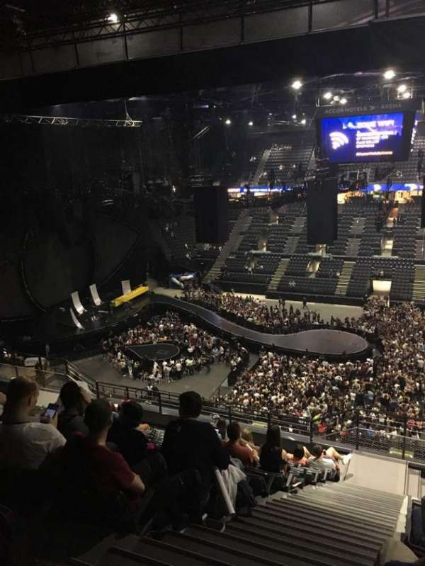 AccorHotels Arena, section: P, row: 93, seat: 10