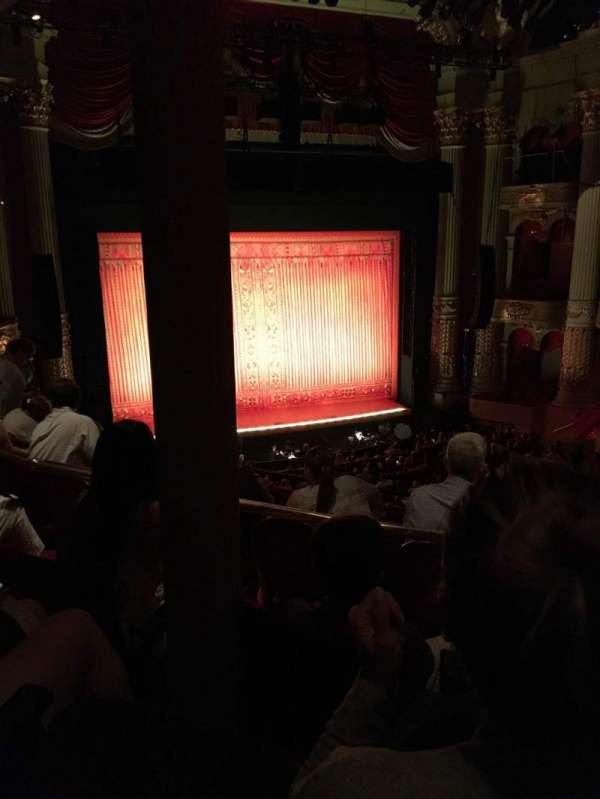 Academy of Music, section: Balcony F, row: C, seat: 17