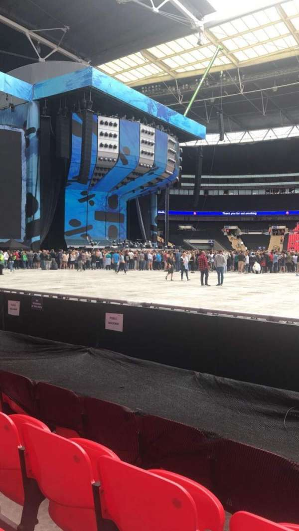 Wembley Stadium, section: 124, row: 4, seat: 50