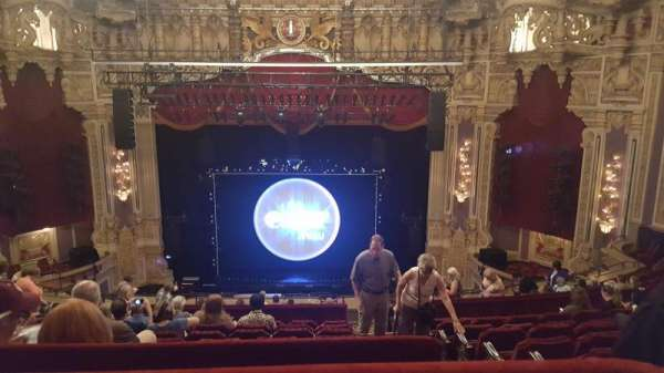 Oriental Theatre, section: Balcony C, row: M, seat: 309