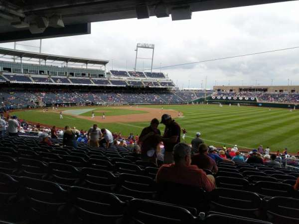 TD Ameritrade Park, section: 103, row: 31, seat: 4