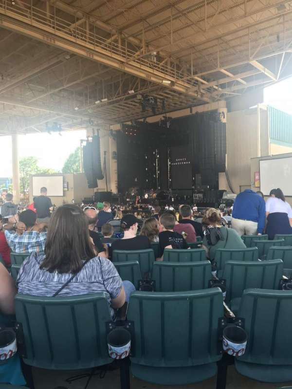 Ruoff Home Mortgage Music Center, section: H, row: N, seat: 8