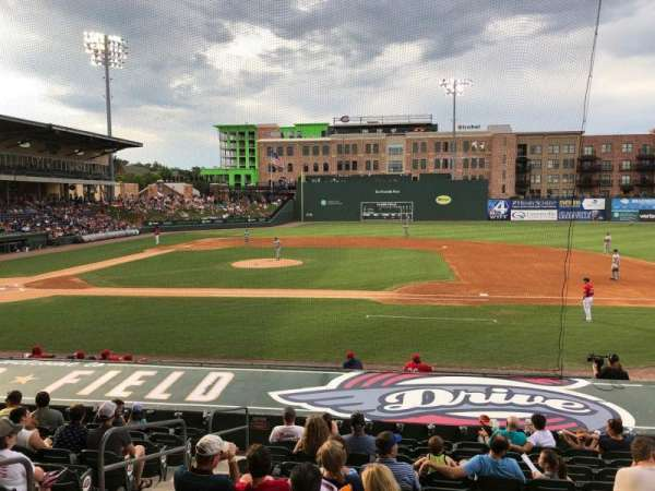 Fluor Field, section: 113, row: P, seat: 10