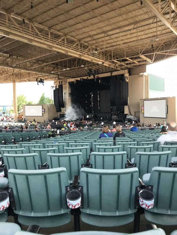 Ruoff Home Mortgage Music Center, section: H, row: Y, seat: 5
